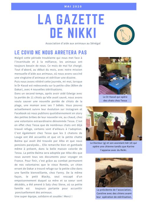 Gazette de Nikki Mai 2020 1:2